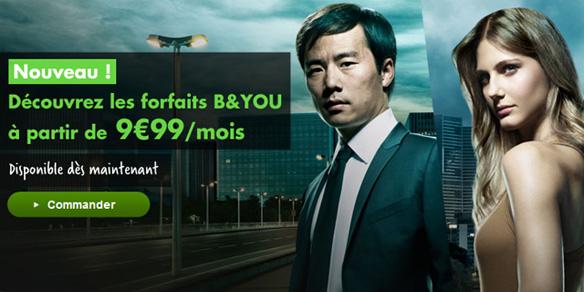 L'offre B&YOU de Bouygues Telecom
